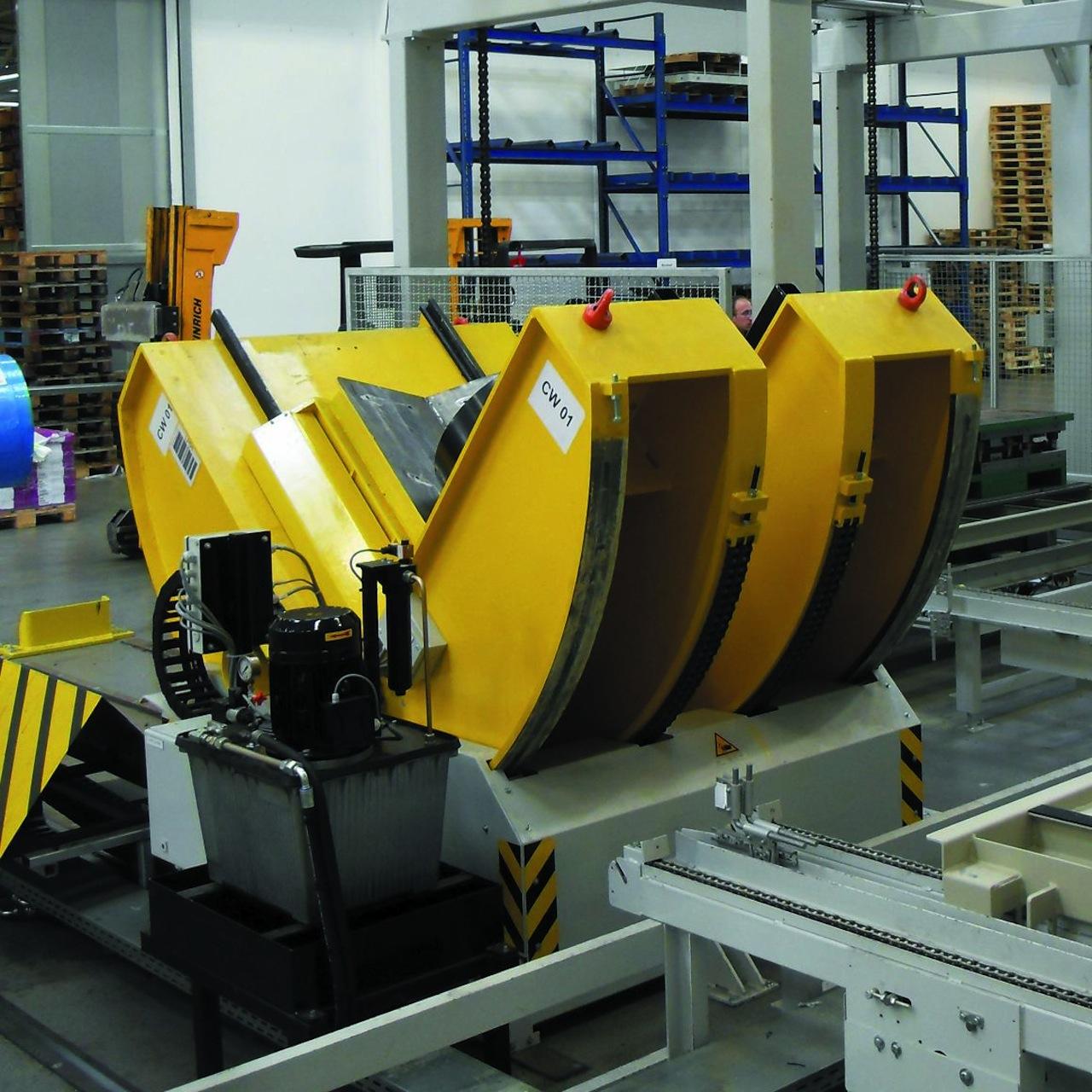 Stationary Load Inverter Pallet Inverter Bulle Pallet: H+H Herrmann + Hieber GmbH